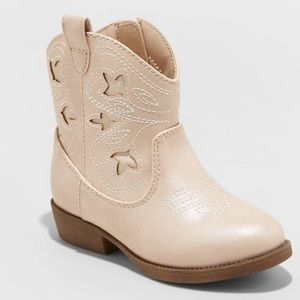 Cat & Jack Girls Western Style Boot
